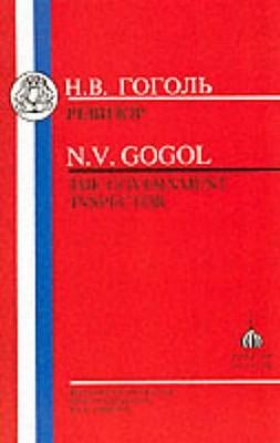 Gogol By Gogol, Nikolai Vasilevich/ Harrison, W. (EDT)